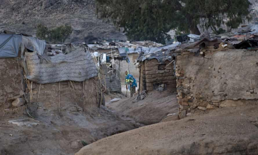 A slum in Keren, Eritrea's second-largest city
