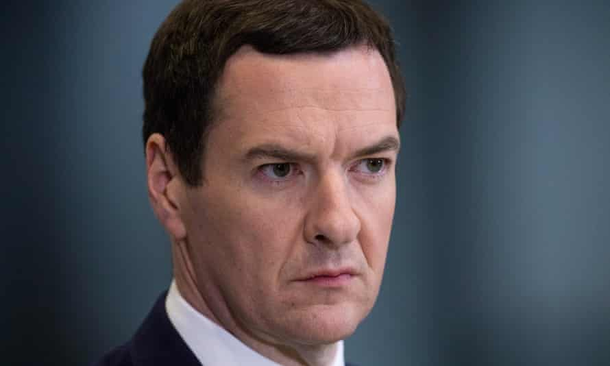 George Osborne, who lowered the UK's top rate of tax from 50% to 45% in 2013.