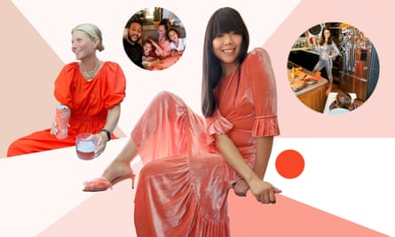 From left: Gwyneth Paltrow; Chrissy Teigen and family; Susie Lau; Sophie Ellis-Bextor.