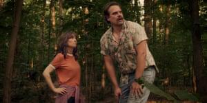 The 'outstanding' Winona Ryder and David Harbour in the new series of Stranger Things