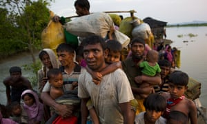 Nearly 700,000 Rohingya Muslims have fled Myanmar into Bangladesh in the second half of 2017.