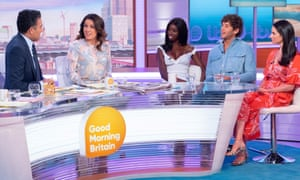 Guests from Love Island on ITV's Good Morning Britain