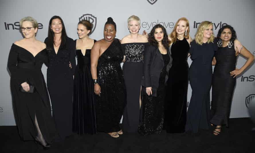 At the Golden Globes women wore black as a gesture of solidarity and in support of anti-harrassment campaigns.