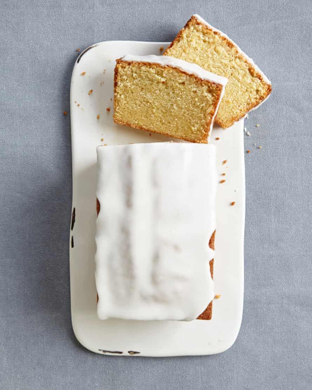 Lemon drizzle loaf.