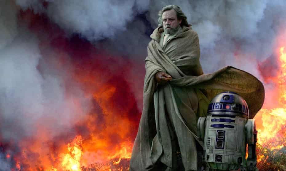 Mark Hamill and R2-D2 in last year's Star Wars: The Rise of Skywalker.