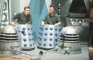Dalek operators Robert Jewell and John Scott Martin