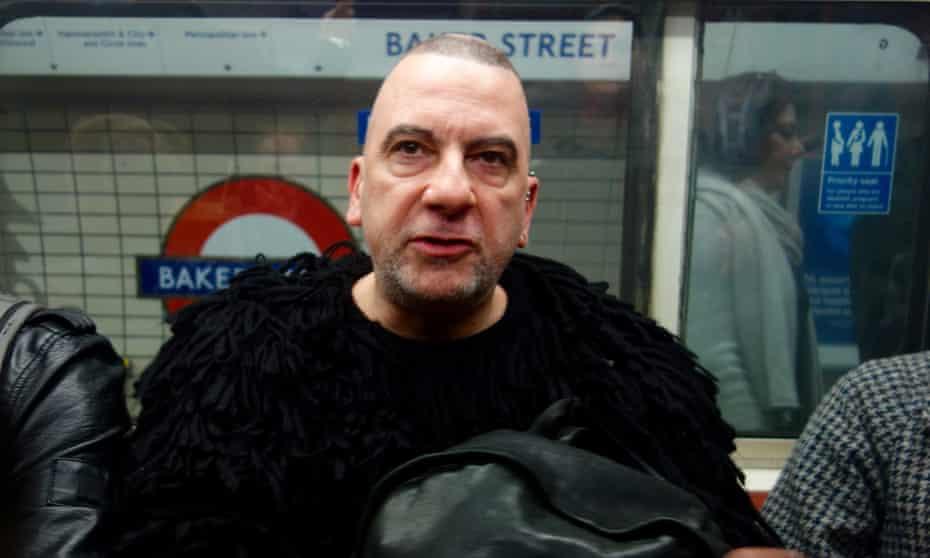Man on the tube.