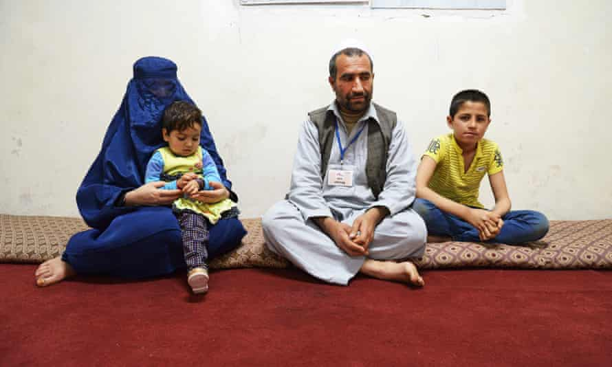 Three-year-old Shaista (with her family) was in the hospital. She was was the sole survivor of the ICU attack