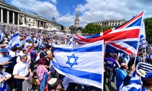 The Closer to Israel event in Traflagar Square, London, 2013.