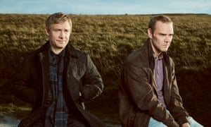 Martin Freeman as Steve Fulcher and Joe Absolom as Christopher Halliwell in A Confession.