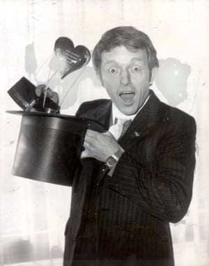 Paul Daniels is the Variety Club's surprise choice as Show Business Personality Of 1981. 'I am astonished as anyone to win this' he said at the club's 30th Annual Awards Lunch at the London Hilton