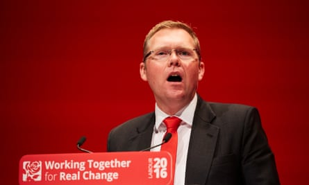 Newcastle city council leader Nick Forbes at the 2016 Labour party conference.