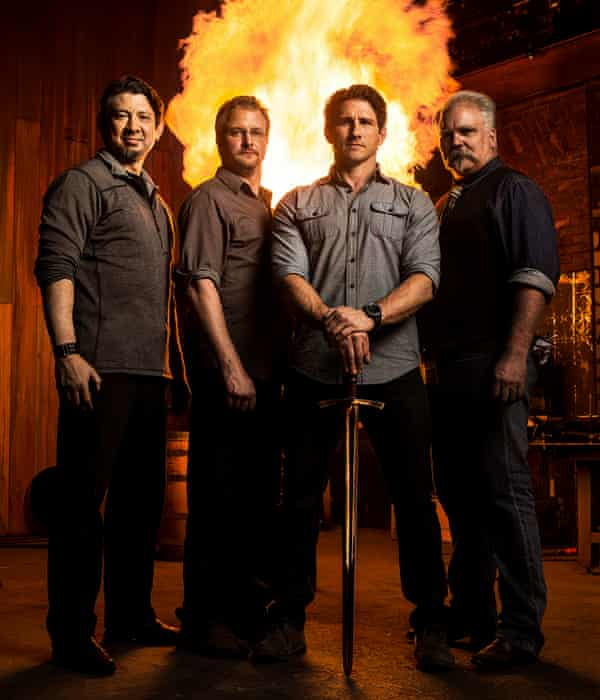 Forged In Fire … 'Why be stuck in an office when you could be melting things?'