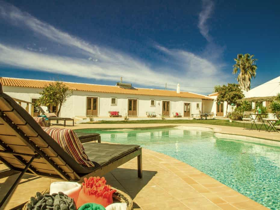 Accommodation is in a quinta, a Portuguese farmhouse