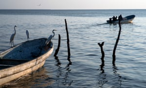 Fishermen in Paredón say the village is used by smugglers to transport migrants by sea. The boats come from Central America and stop here to refill petrol tanks.