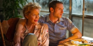 Hollywood scouse … Annette Bening and Jamie Bell.