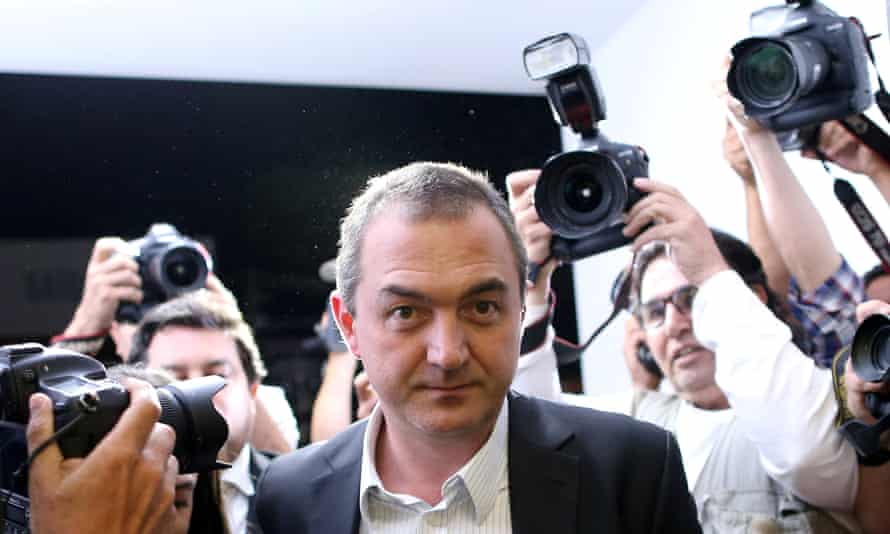 Brazil's billionaire businessman Joesley Batista