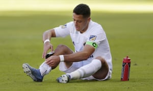 Javier Hernández has one goal in seven appearances this season for LA Galaxy