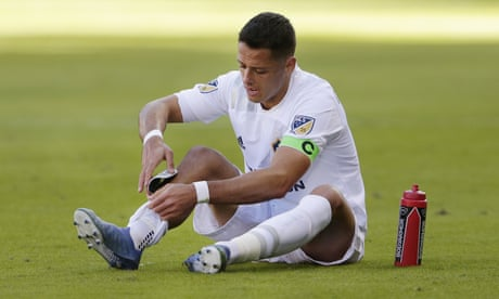 Javier Hernández is reaching Steven Gerrard levels of disappointment at Galaxy