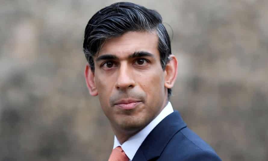 Britain's chancellor of the exchequer, Rishi Sunak
