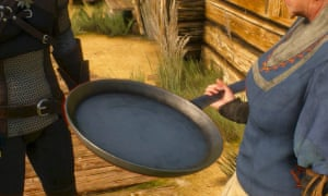 This humble frying pan forms the basis of a whole side mission in Witcher 3