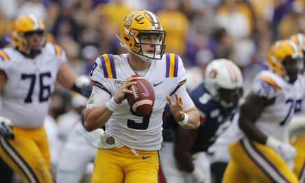 Joe Burrow's stellar season with LSU makes him an almost certain pick at No1