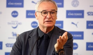 Claudio Ranieri, the Leicester manager