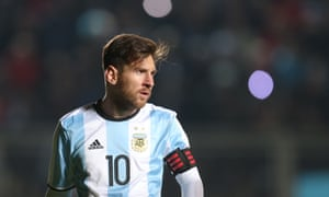 Argentina's Lionel Messi: still the star of the show.