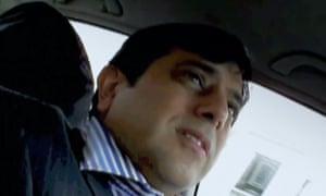 A still from a video showing undercover journalist Mazher Mahmood who has been charged with conspiring to pervert the course of justice.