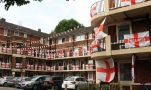 The Kirby estate in Bermondsey, London
