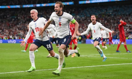 England beat Denmark in extra time to set up Euro 2020 final with Italy