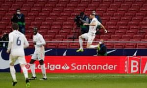 Benzema draws Real level.