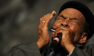 James Cotton performing in New Orleans in 2012.