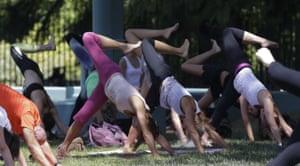 Milan, Italy International Yoga Day in Milan