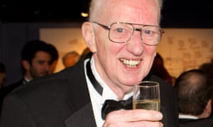 Jeremy Bond at a reception at the Park theatre in north London, of which he was founder and principal donor