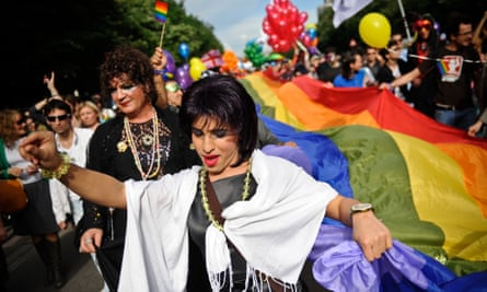 Romania's constitution is gender neutral so could in theory allow gay unions at some future stage.