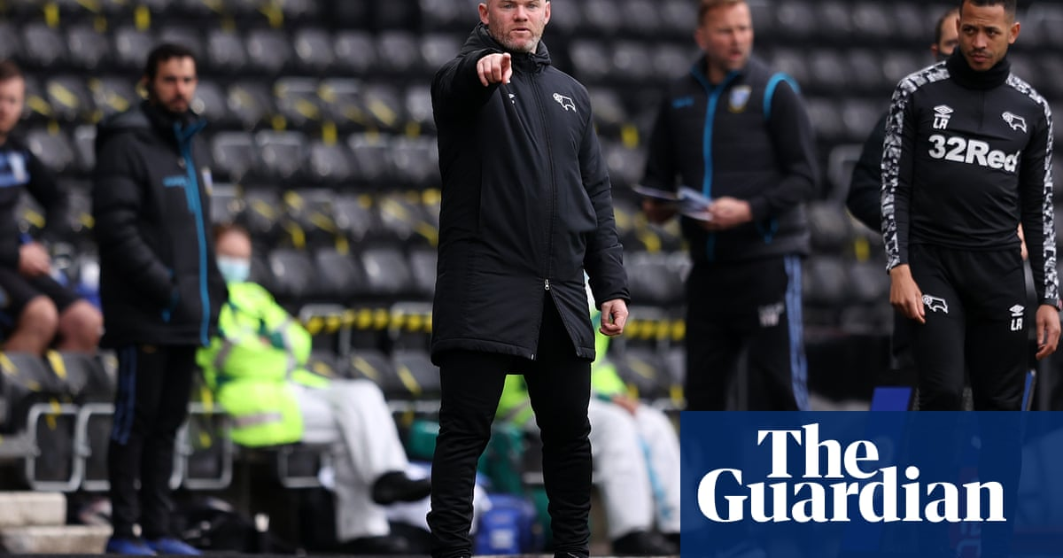 Wayne Rooney says Derby 'mess-ups' must stop to avoid relegation scares - the guardian
