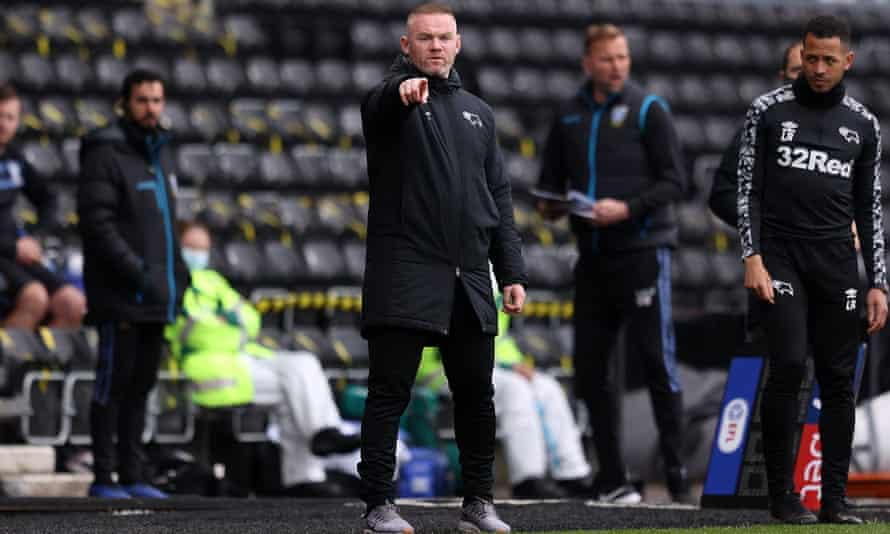 Wayne Rooney saw his Derby side flirt with relegation on the final day of the Championship season, but they survived at Sheffield Wednesday's expense.