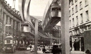 Central London monorail