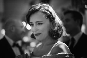 Keeley Hawes, star of Bodyguard, on the red carpet