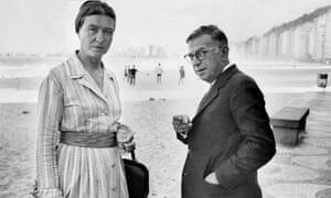Simone de Beauvoir and Jean-Paul Sartre were together for 51 years, until Sartre's death in 1980.