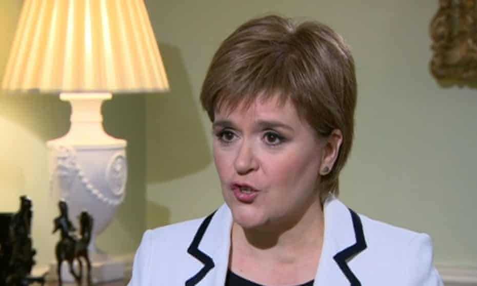 Sturgeon has said she would put a second vote to one side if the Brexit deal with the EU meant the UK or just Scotland remained in the single market.