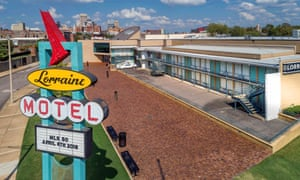 King was assassinated at the Lorraine Motel on 4 April 1968. It is now the National Civil Rights Museum.