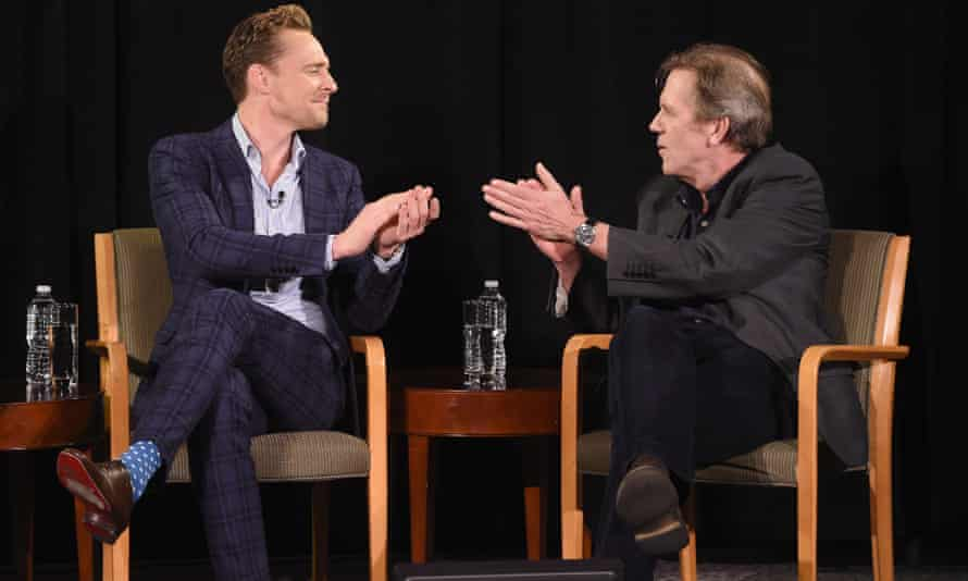 The Night Manager's male stars, Tom Hiddleston (left) and Hugh Laurie, went to the same prep school and then on to Eton.