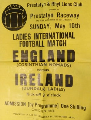 The programme from Dundalk v Corinthian Nomads in May 1970