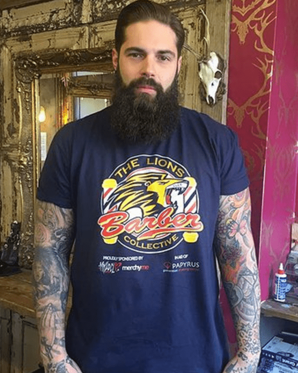 Keep talking: Tom Chapman's Lions Barber Collective is turning a network of barber shops into safe spaces for men to open up in.