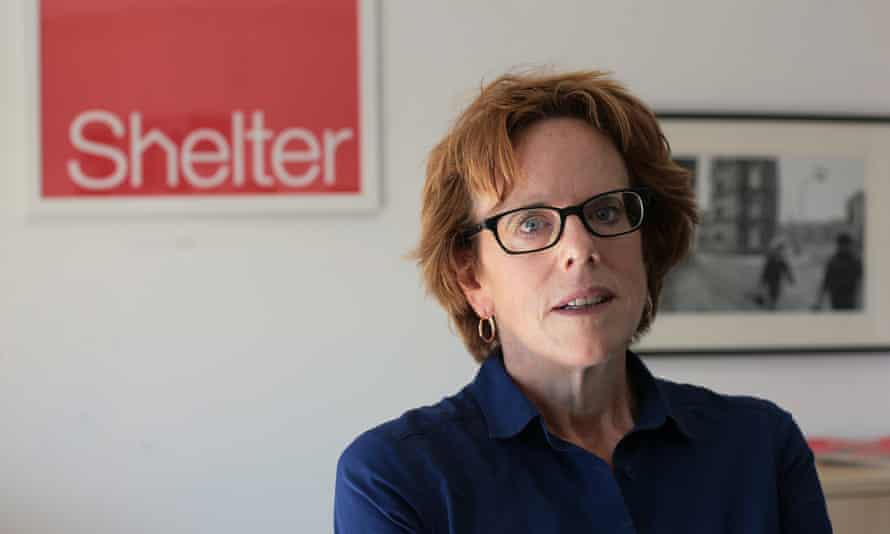 Polly Neate, Shelter's chief executive:
