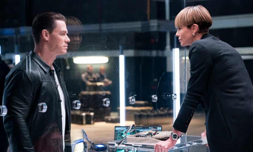 Complaints about going faster ... John Cena and Charlize Theron face off in Fast & Furious 9.