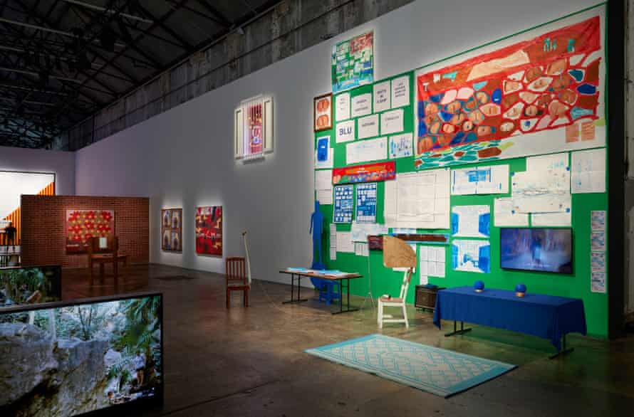 Installation view at Carriageworks