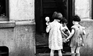 Jewish quarter of Antwerp, 1937.